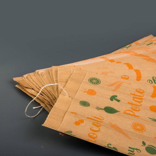 Printed Paper Bag Fruit to hang