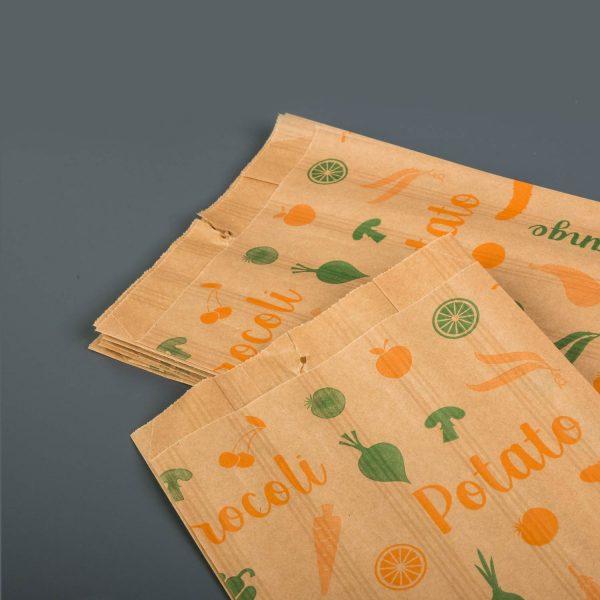 Printed Paper Bag Fruit