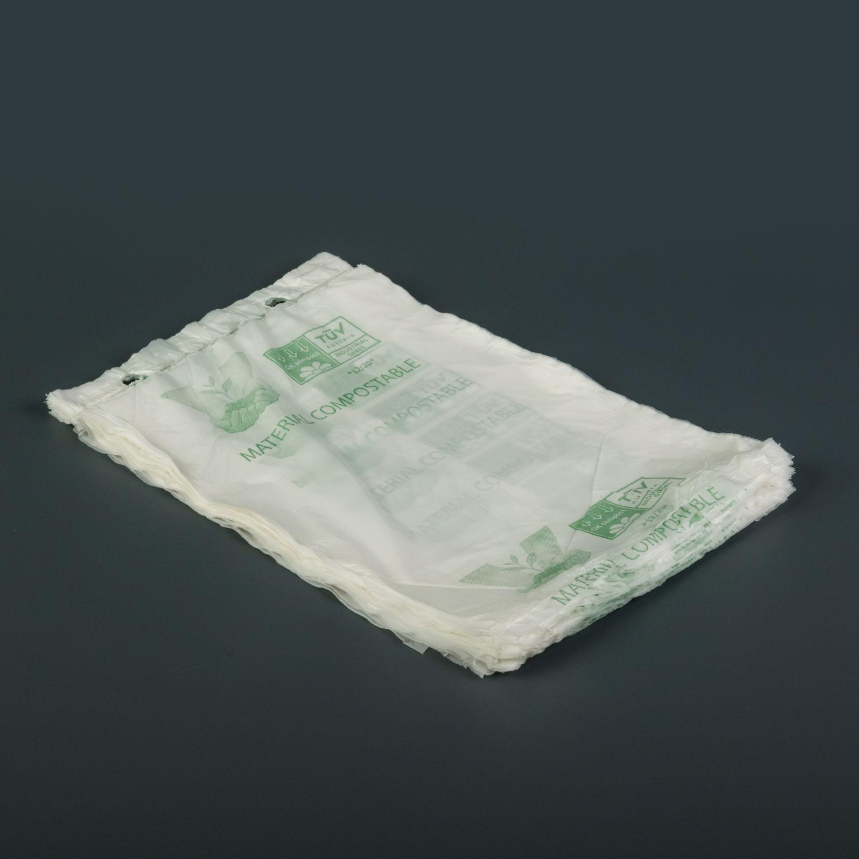 SAM bolsa compostable en block