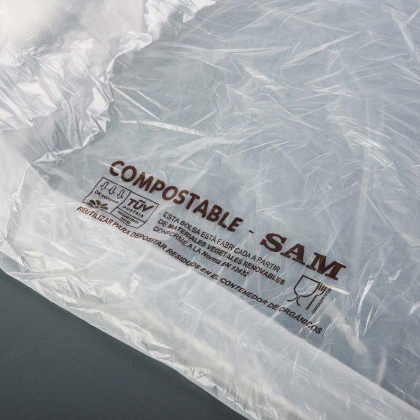 SAM compostable en rouleau 1